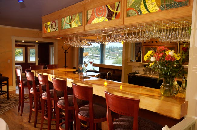 I Designed The Room Layout, Color Scheme, Lighting Plan, Custom Artwork,  Custom Bar And Furniture For This High End Award Winning (and Very Popular)  Olympia ...